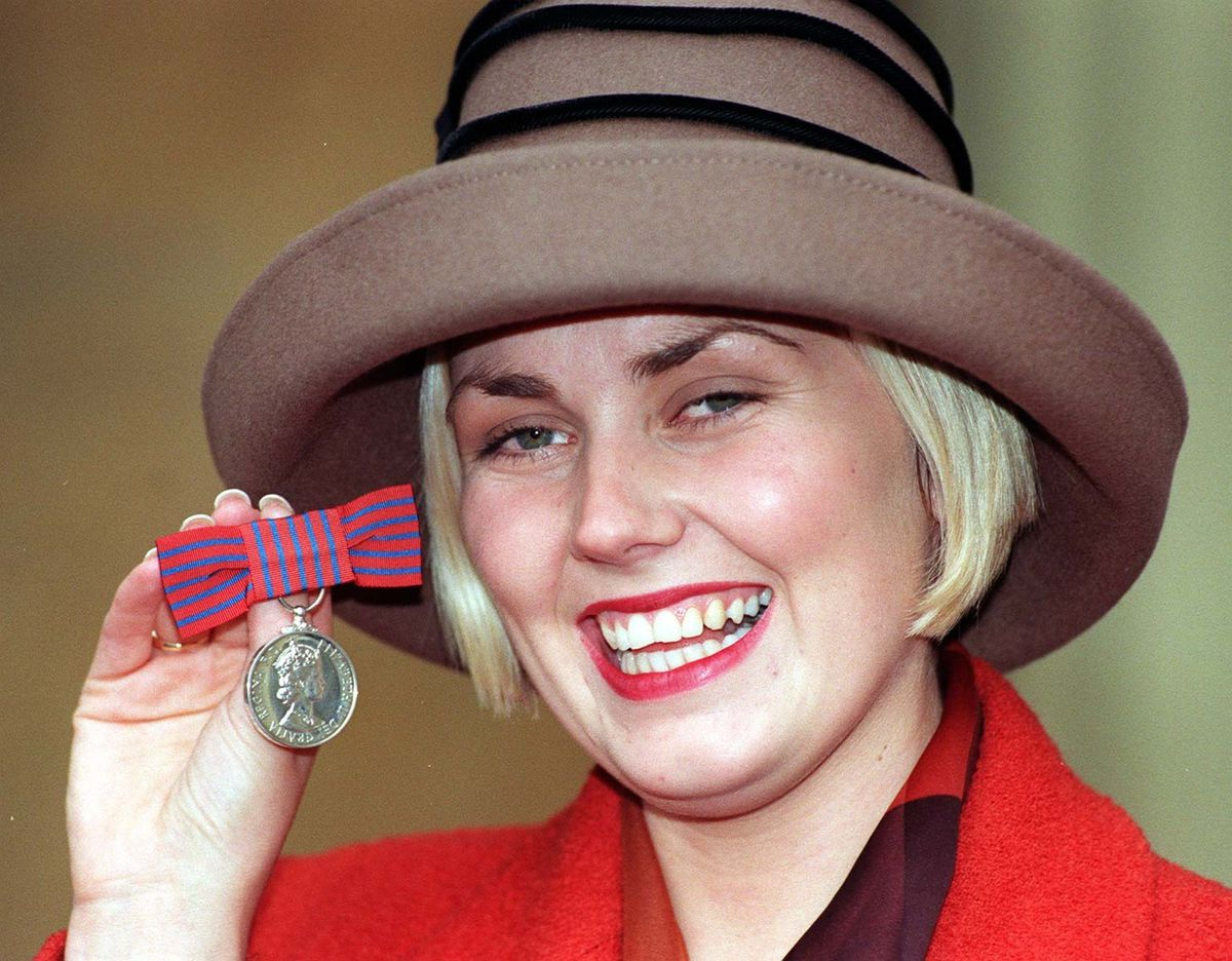 Lisa was awarded the George Medal for bravery