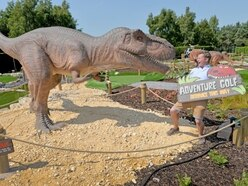 Roarsome! New dinosaur-themed crazy golf course to open near Wolverhampton