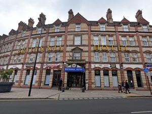 Wolverhampton's Britannia Hotel has been used to temporarily house hundreds of asylum seekers