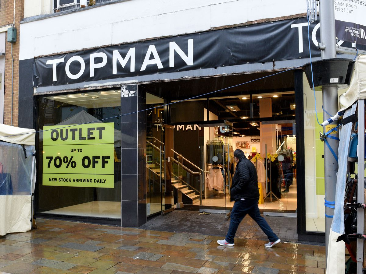 Topshop/Topman, in Wolverhampton, is pulling out of the city