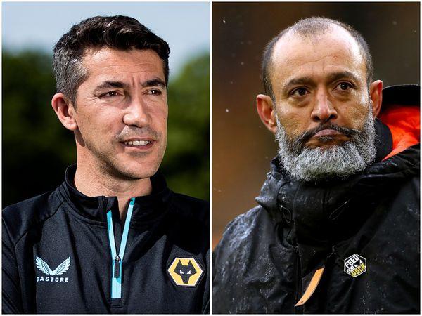 Bruno Lage and Nuno Espirito Santo (Wolves/PA)