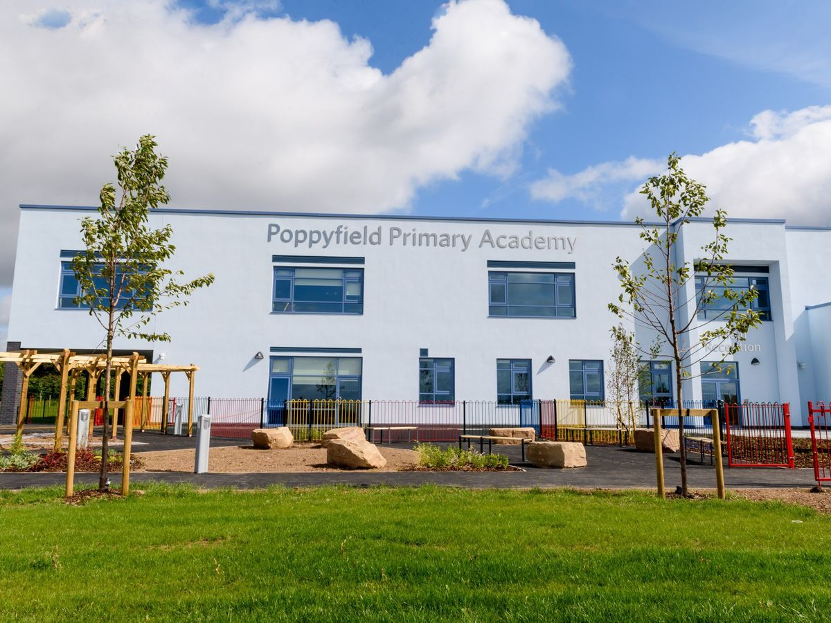 Work on Poppyfield Primary Academy has been completed