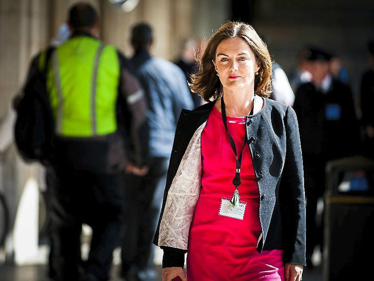 MP Lucy Allan at the House of Commons, where she has raised the issue of an inquiry into child sex abuse in Telford