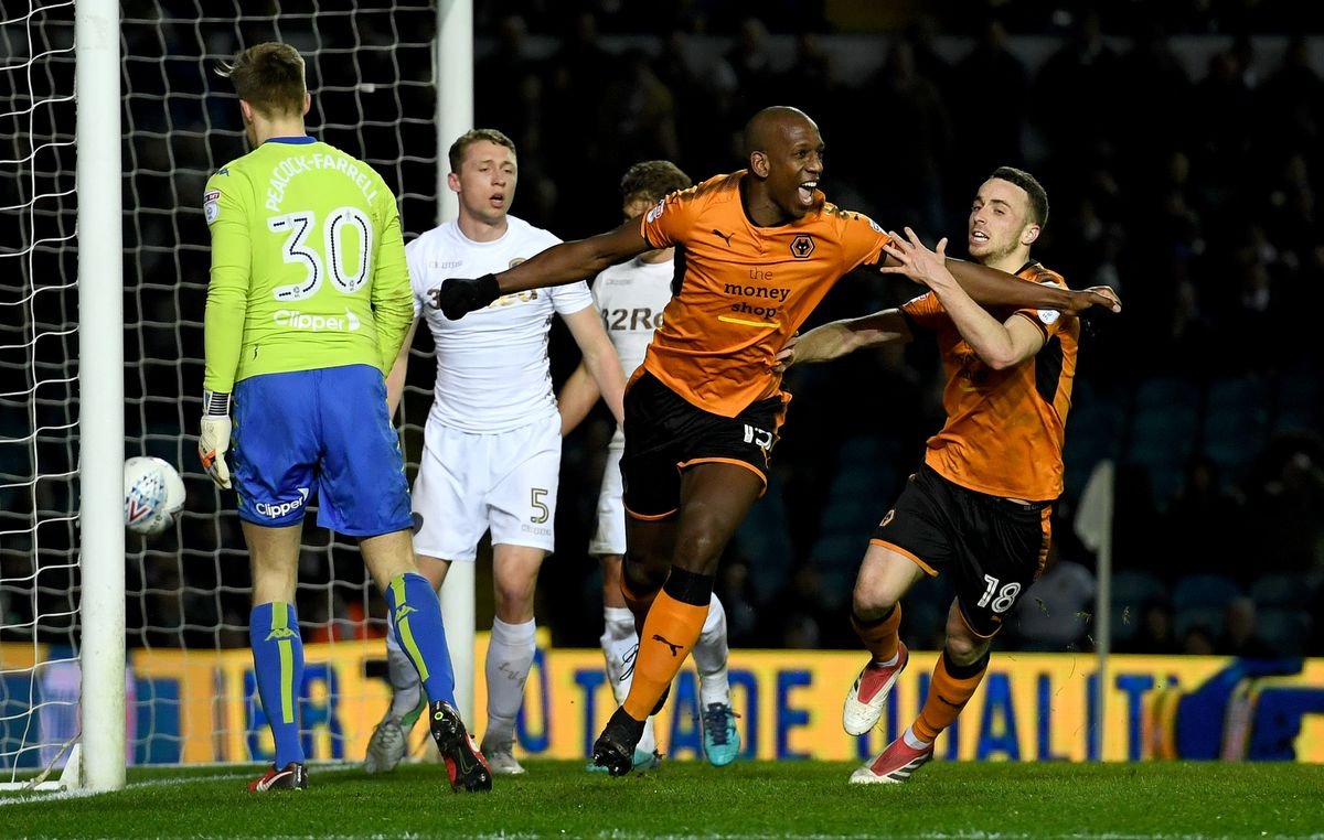 Boly celebrates his goal in a 3-0 win at Leeds (© AMA / Sam Bagnall)
