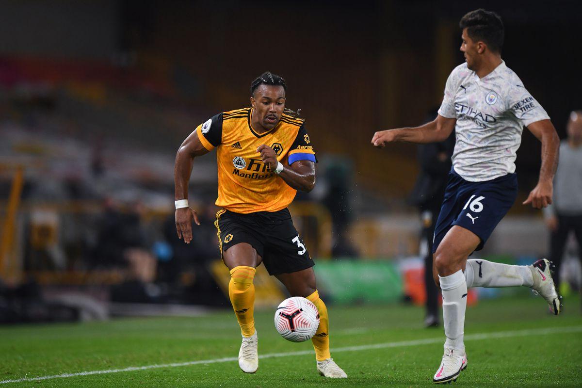 Adama Traore of Wolverhampton Wanderers (AMA)