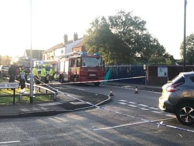 Biker seriously injured in crash near Wolverhampton School