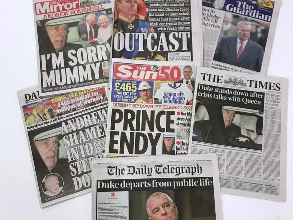 Companies race to drop scandal-hit prince Andrew