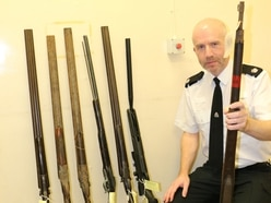 More than 170 guns handed in to Staffordshire Police in single fortnight