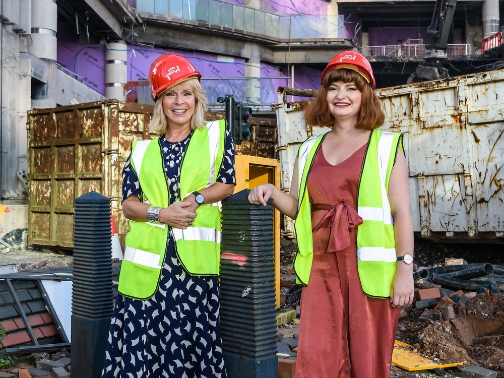 Birmingham music icon Toyah has a hand in Symphony Hall redevelopment