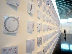 Pica puts her stamp on exhibit