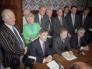 John Redwood launches his 1995 leadership challenge