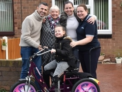 Girl, seven, given new trike in Oliver's memory