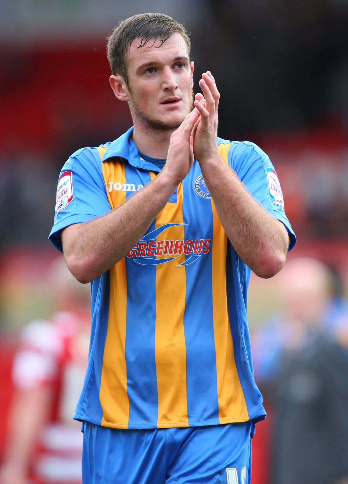 Lee Collins, when he played for Shrewsbury Town (AMA)