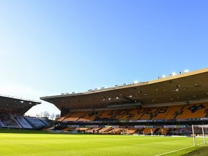 A general internal view of Molineux Stadium, home stadium of Wolverhampton Wanderers (AMA)