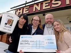 More than 1,000 raised for Black Country charity in memory of Staffordshire man