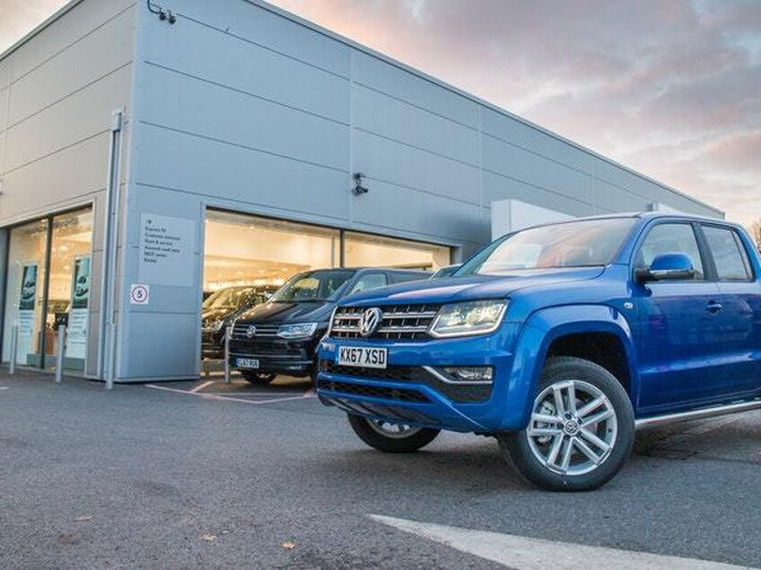 The Volkswagen Amarok adds go-anywhere capability to the fleet