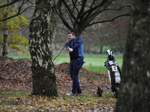 Golfers return, at Oxley Park Golf Club, Wolverhampton