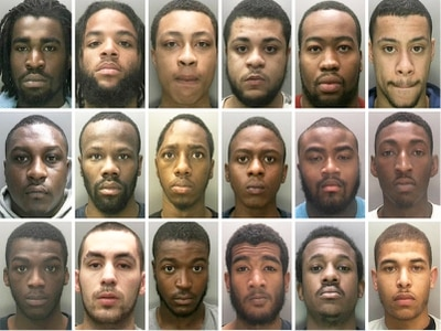 'A dangerous menace': EIGHTEEN West Midlands 'gang members' named by police in UK's biggest blitz of its kind