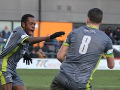 Barnet 1 Halesowen Town 2 AET - Report and pictures