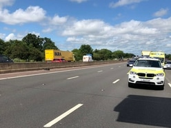 M6 closed near Cannock after fatal lorry crash