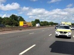M6 closed near Cannock after fatal lorry crash