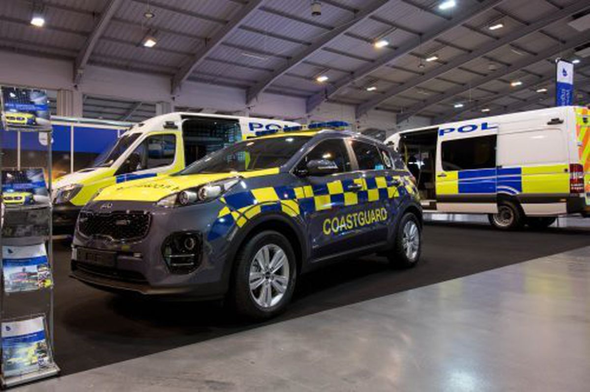 Babcock's vehicle engineering business at Aldridge carries out conversion work for the emergency services