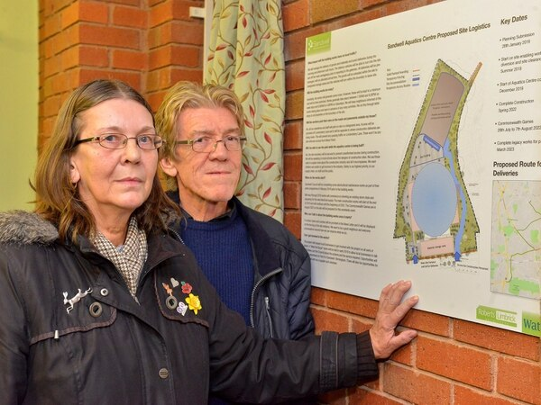 Sandwell Aquatics Centre 'great but in wrong place' say residents