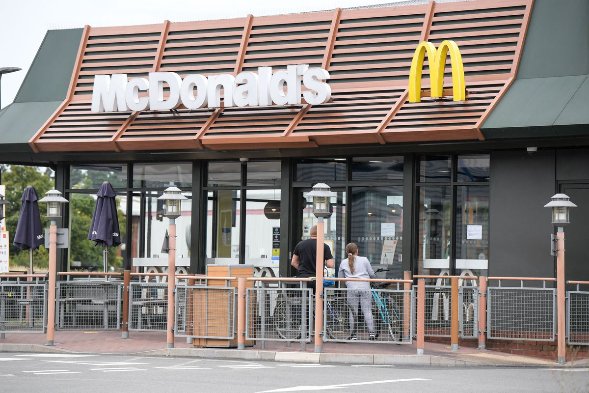 Five staff at the McDonald's have tested positive. Photo: SnapperSK