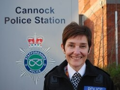 New police area commander for Cannock Chase