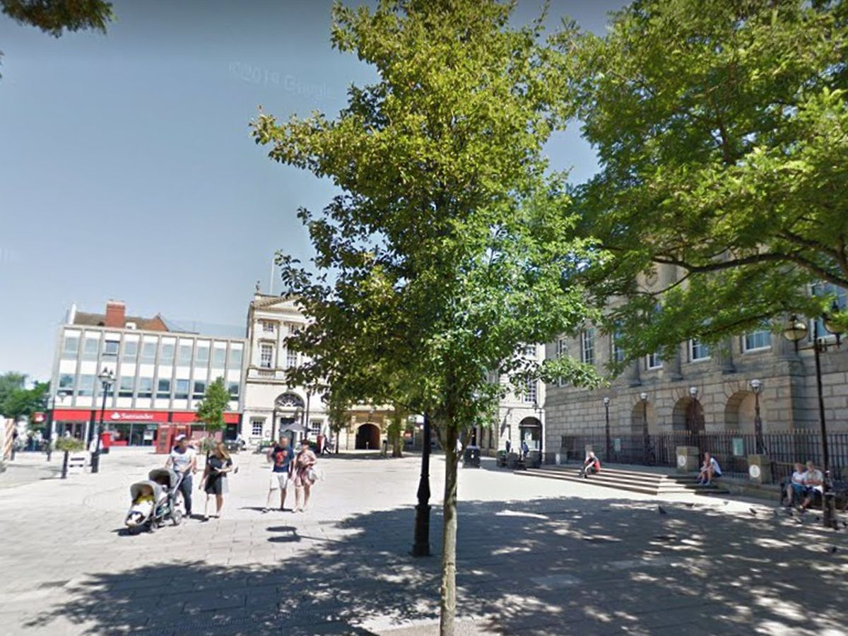 Benches could be installed in Stafford Market Square as an area of dedication and reflection.