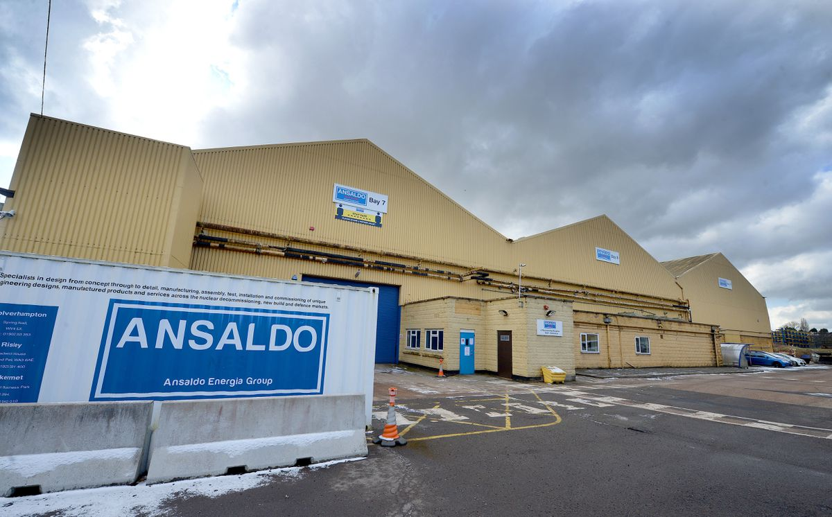 Ansaldo Nuclear, off Spring Road in Ettingshall, Wolverhampton