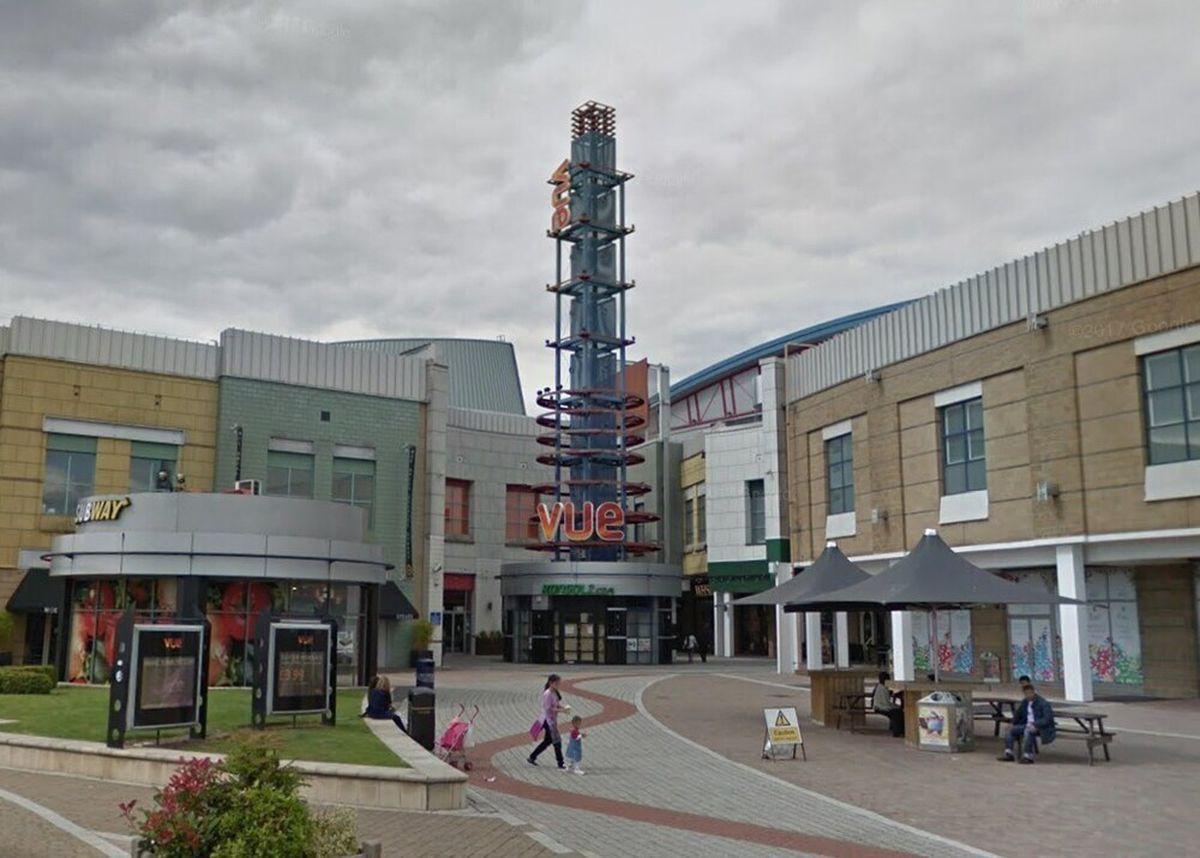 The Vue Cinema at Star City in Birmingham. Photo: Google