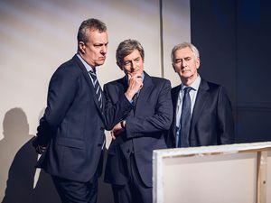 Stephen Tompkinson, Nigel Havers and Denis Lawson in Art