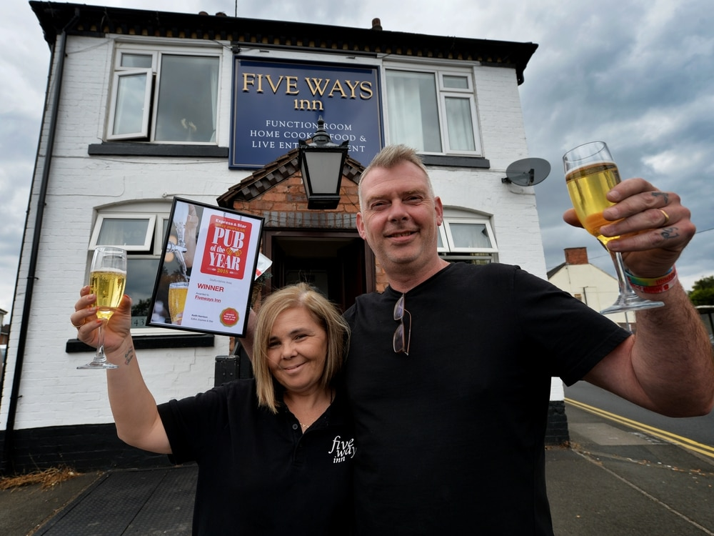 Staffordshire pub crowned Most Popular Pub of the Year
