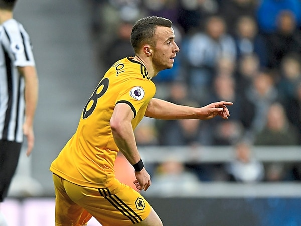 Nuno joy to see Diogo Jota firing again for Wolves