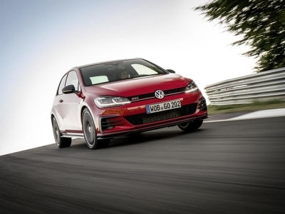 Volkswagen reveals punchier Golf GTI TCR