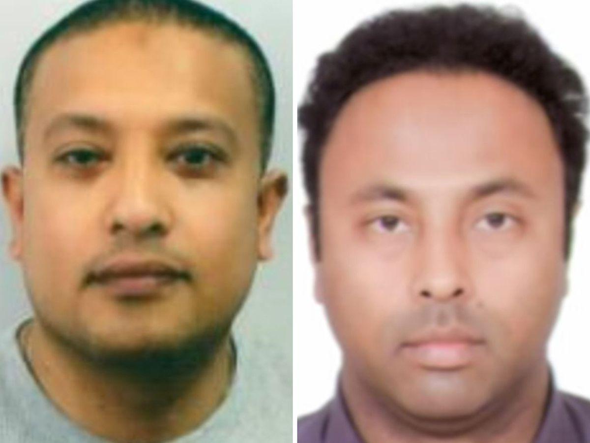 Abdul Kamal, left, and Mohammed Uddin