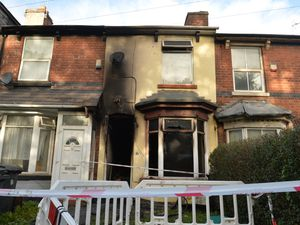 The fire broke out around 2am and left one man dead and another severely injured