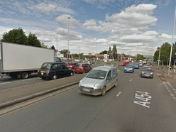 Man stabbed in shooting drama on city road