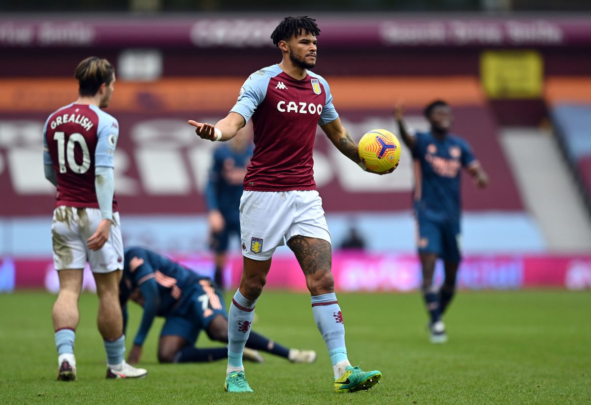 Tyrone Mings enjoyed a fine game against Arsenal.