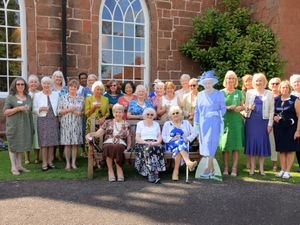 Hartlebury WI's celebration - with 'special guest'