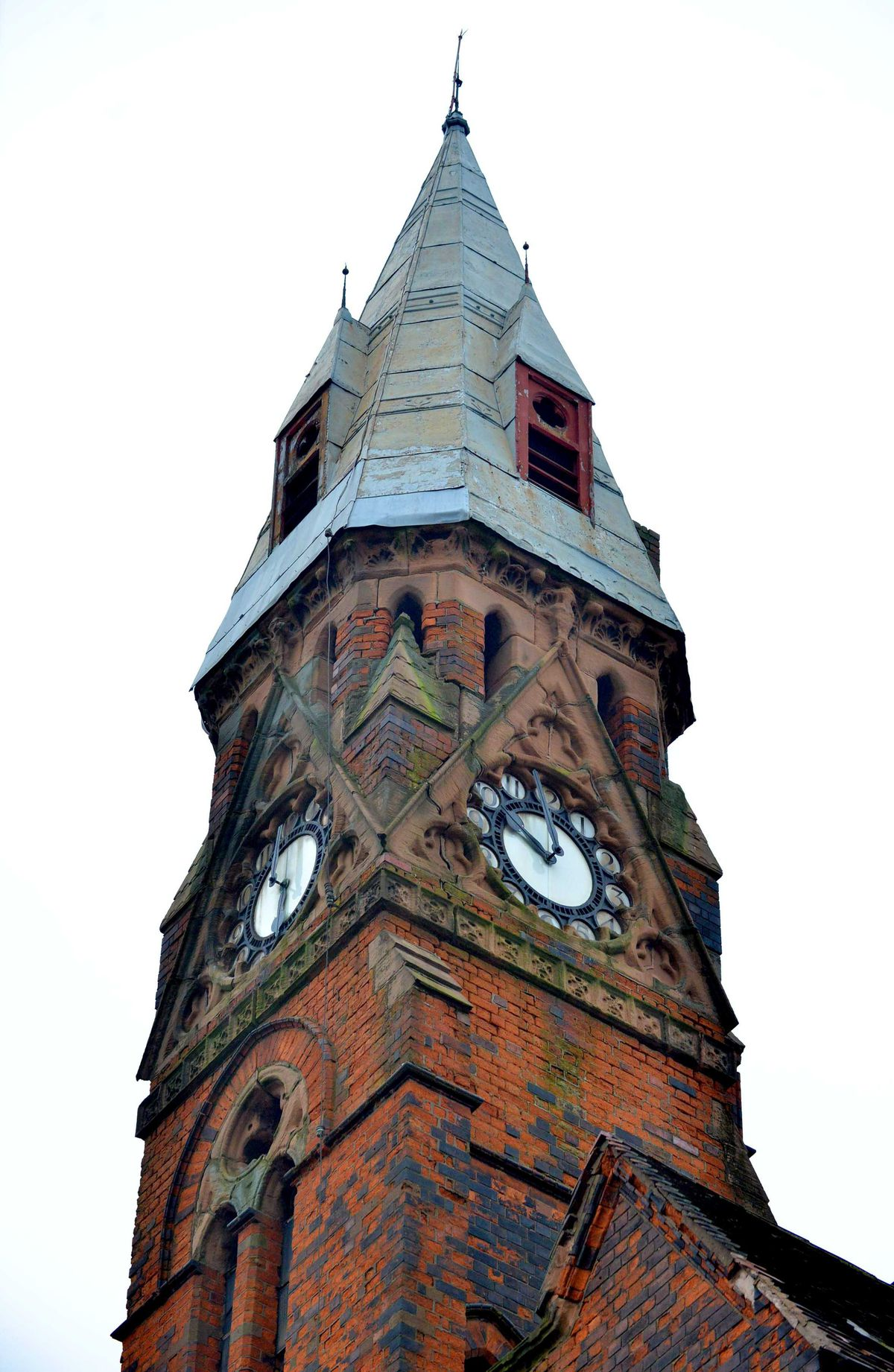 Drugs were growing in every part of the building, including the clock tower