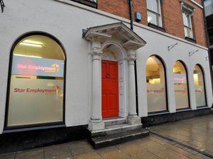 The Star Employment offices in Queen Street, Wolverhampton