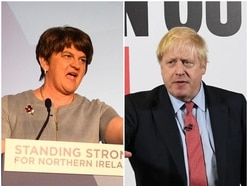 DUP accuses Boris Johnson of breaking his word on union commitment