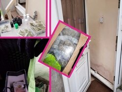 £30k drugs and cash seized in Cannock raid