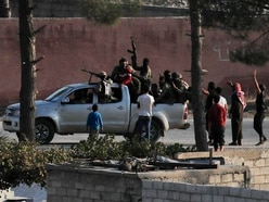 Syrian troops 'enter town close to Turkey's border'