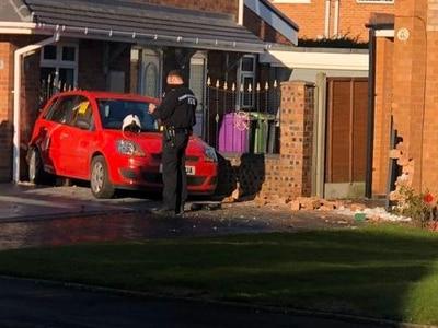 Elderly driver crashes car into Wolverhampton home