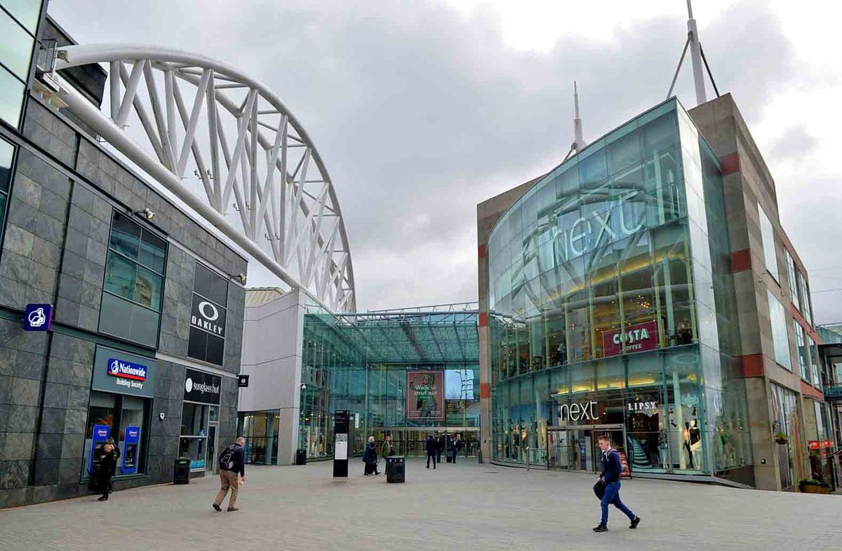 The Bullring has been evacuated today while an investigation by the fire service takes place (Library image)
