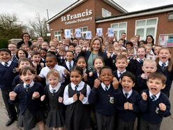 St Francis Catholic Primary School in UK's top three for pupil progress