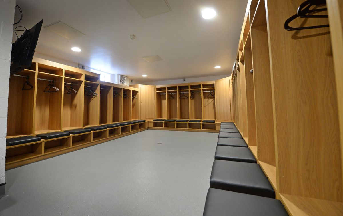 The home changing room